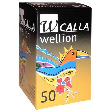 Тест полоски Calla Wellion 50 штук