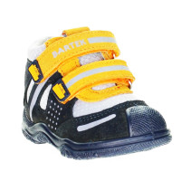Ботинки детские профилактические Bartek T-61557 сине-оранжевые