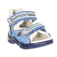 Босоножки Bartek детские профилактические T-61387 синие