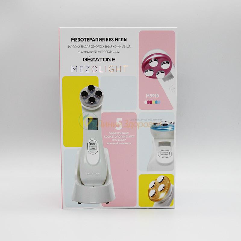 Мультифункциональный прибор для омоложения Gezatone Mezolight M 9910