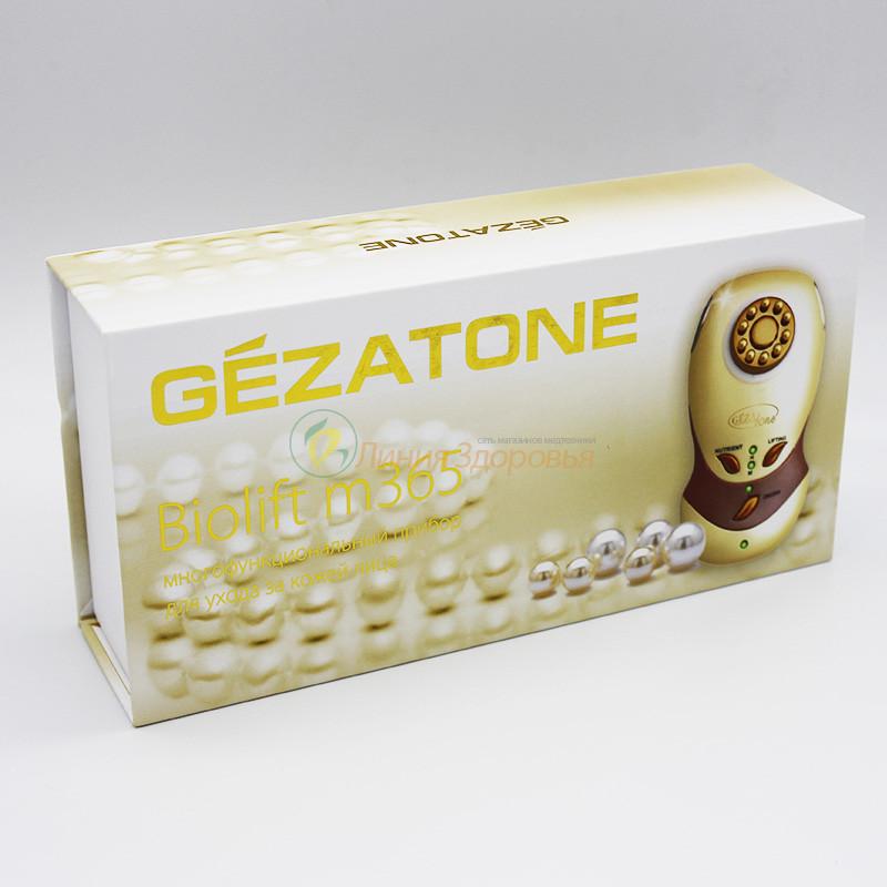 Аппарат микротоковой терапии с гальваникой Gezatone m365