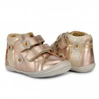 Ботинки ортопедические Memo Bella 3FD золотые