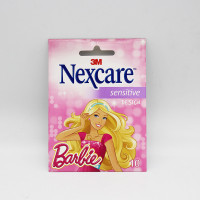 Пластырь Nexcare Barbie 3M 10 шт