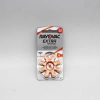 Батарейки для слуховых аппаратов Rayovac № 13 8 штук
