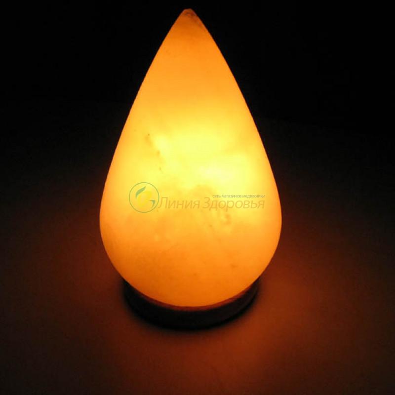 Соляная лампа ProSalt Капля 3-4 кг