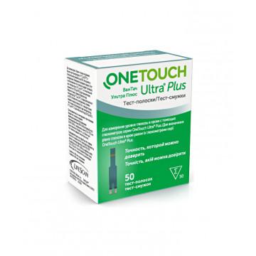Тест-полоски One Touch Ultra Plus 50 шт