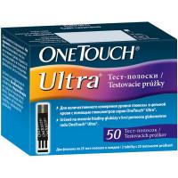 Тест-полоски One Touch Ultra, 50 шт.