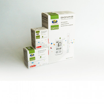 Тест полоски для глюкометра Rightest GS 550 Bionime